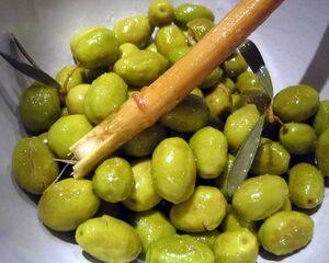 Olives cassees
