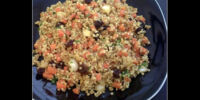 Carrot and Raisin Quinoa
