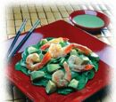 Quick Avocado, Shrimp and Wasabi Salad