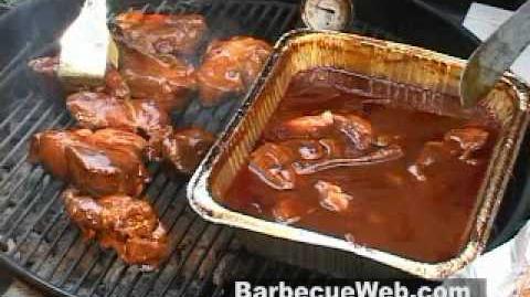 Hawaiian Barbecued Pork Ribs