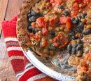Black Bean Chili Pot Pie
