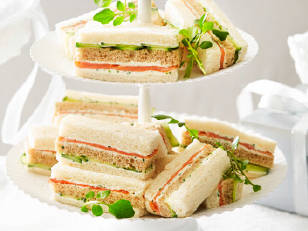 Royal baby high tea recipe sandwiches 18tcj18-18tcj1b