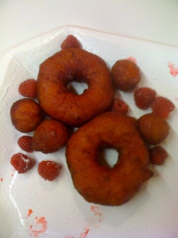 File:Raspberry Glazed Donuts image.jpg