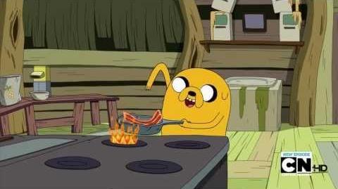 Adventure Time - Bacon Pancakes