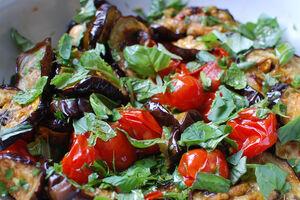 Eggplanttomato