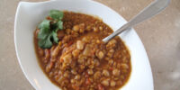 Spicy Lentil and Bean Soup