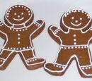 Crispy Gingerbread Cookies
