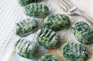 Spinach gnocchi taste