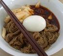Korean buckwheat noodles