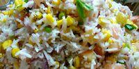 Rice Salad with Sweet Corn