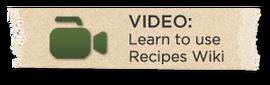 Recipevideo button organic 300x94