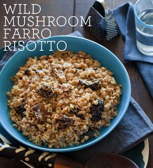 Wild-mushroom-farro-risotto