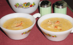 Crawfish Corn Soup
