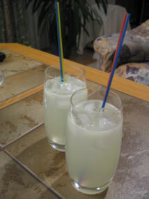 Cocktail rum twister