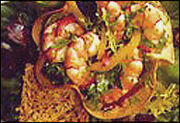 Tortilla Shrimp Salad