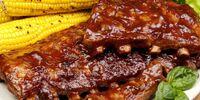 Hickory-smoked Barbecue Ribs