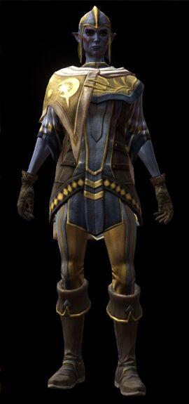 Divine Grasp Armor Set