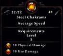 Steel Chakrams