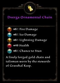 Dverga ornamental chain