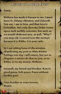 Graveside Letter III-1
