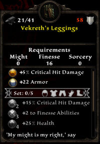 Vekreth leggings