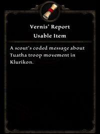 Vernis Report
