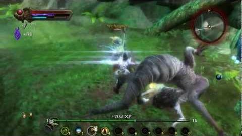 Kingdoms of Amalur - Rogue gameplay - Mini boss fight - Sir Airmer
