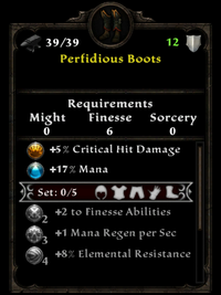 Perfidious Boots