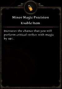 Minor Magic Precision