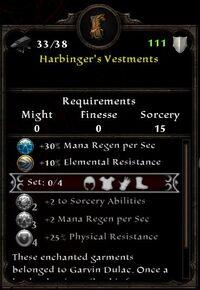 Harbinger's Vestments