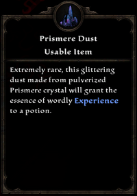 Prismere dust card