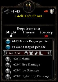 Lachlan's shoes