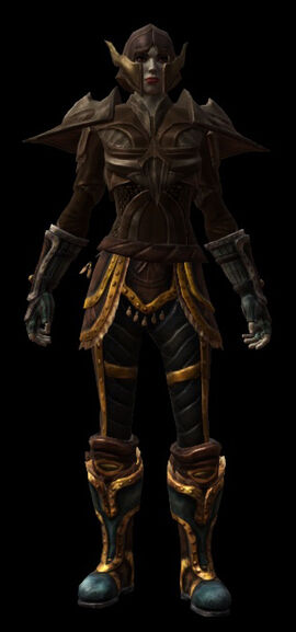 Jack armor set female