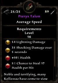 Sceptre Pteryx Talon