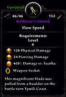 Kelleracs sword plain stats