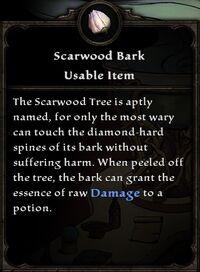 Scarwood Bark