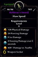 Kelleracs sword true stats