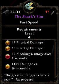 The Shark's Fins