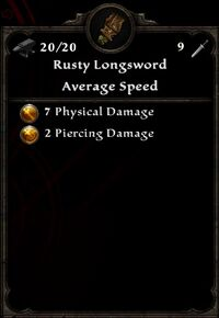RustyLongsword