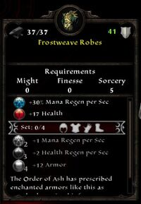 Frostweave Robes