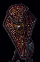 Dvergan Kite Shield Model