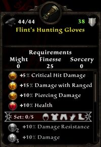 Flint's Hunting Gloves