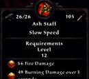 Ash Staff