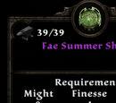 Fae Summer Shield