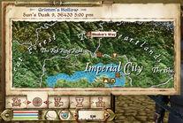 Bleaker's Way Map Marker