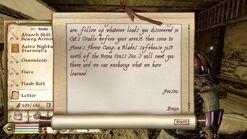 Bruin's Letter 3