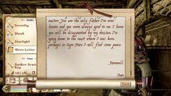 Worn Letter 2