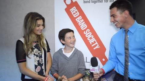 Red Band Society Interview with Zoe and Griffin
