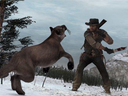 File:John Marston Knifing A Cougar In Nekoti Rock.jpg