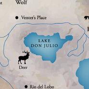Lake Don Julio Location